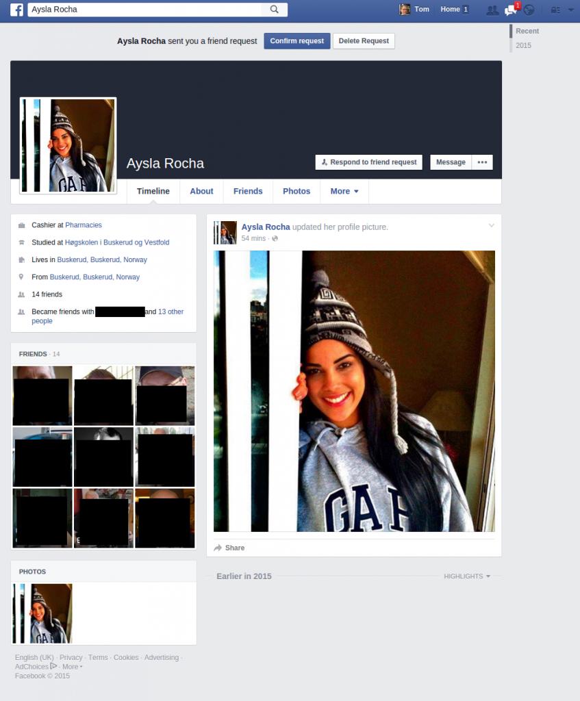 facebook fjern venner